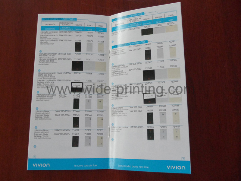 Small Brochure Printing In China Swp6 12