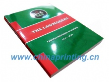 Softcover Book Printing for Nigerian government SWP2-2