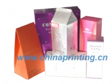 Cosmetic Box printing with different shape in China SWP15-4