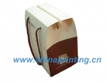 High quality foldable art paper bag printing in China SWP11-38