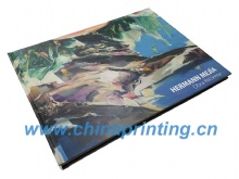 American hardcover book big size printing in China SWP1-15