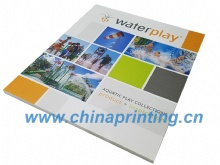 Waterplay softcover catalog printing in China 2017 SWP7-22
